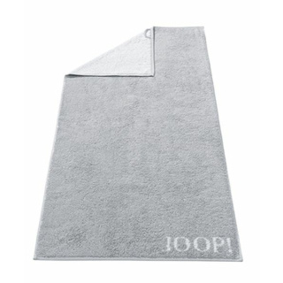 JOOP! Classic Doubleface Duschtuch 80/150cm, Farbe silber