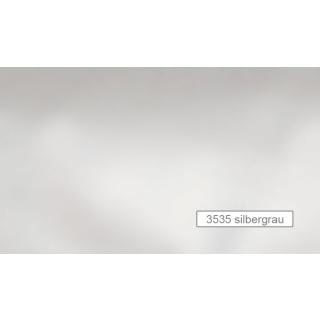Curt Bauer Bettwäsche Basic Uni-Mako-Satin Farbe 3535 silbergrau Größe 135//200